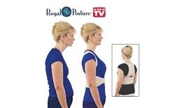Bandajul de sprijinire și îmbunătățire a coloanei vertebrale ROYAL POSTURE