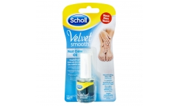 Ulei ingrijire unghii Scholl Velvet Smooth, 7.5 ml