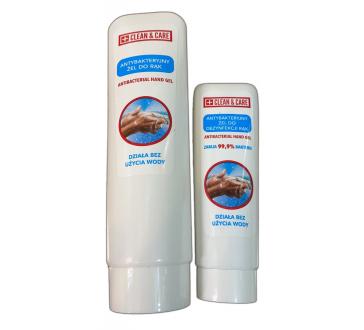 Gel dezinfectant pentru maini CLEAN&CARE, 50 ml sau 125 ml