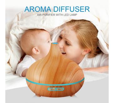 Difuzor de aroma cu ultrasunete - Ionizator de aer